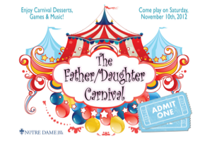 Notre Dame Father Daughter Carnival